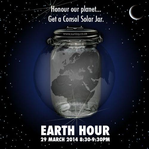 Earth Hour - make every hour a solar powered hour.