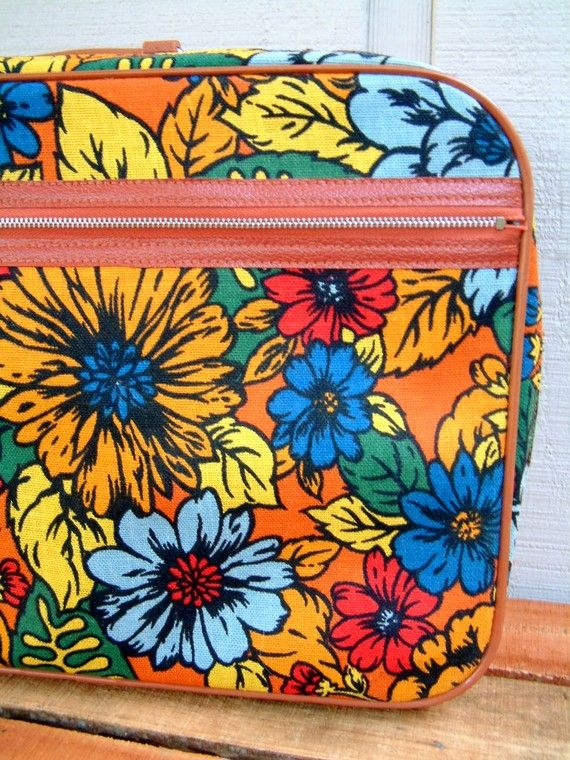 Awesome Floral Retro Suitcase Ii Suitcase And Japan