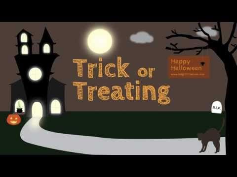 Trick or Treat Halloween Song - YouTube - Celebrating over 500 views of Trick or Treat!  Help us reach 1,000 views! ‪#‎trickortreat‬ ‪#‎halloween‬