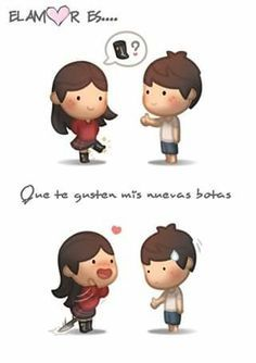 Todo me gusta de ti!