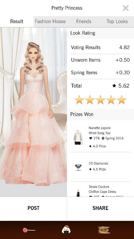 Pretty Princess look on Covet Fashion.