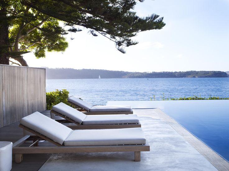 Pool V. Sea, Concrete V. Timber