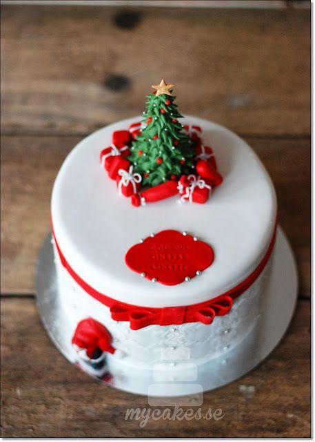 Mycakes Christmas cake
