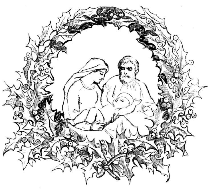 Nativity Coloring Pages 805x735 Pixels