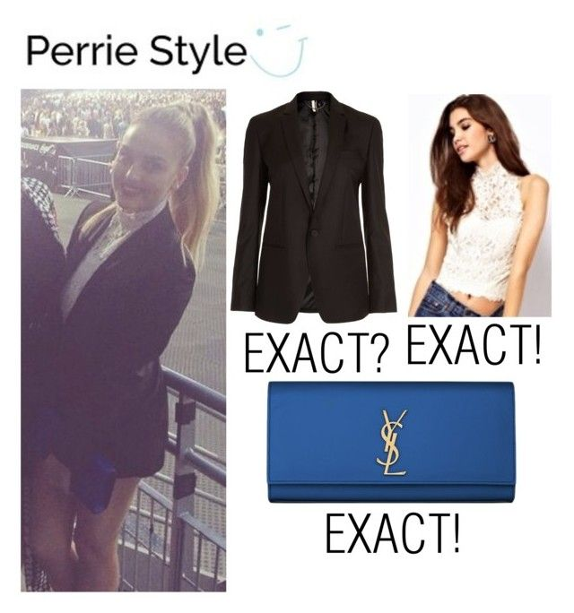 """Get The Look - Perrie Edwards / Beyonce Concert, Paris (Sep 13th, 2014)"" by randomoutfitsandstyle ❤ liked on Polyvore featuring Topshop, ASOS and Yves Saint Laurent"