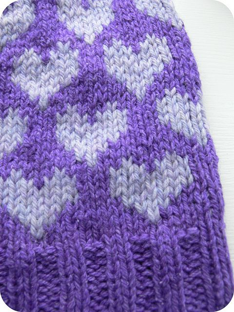 Double Knitting Heart Pattern : 17 Best images about Double Knit Patterns on Pinterest ...