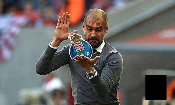 Trener Bayernu Monachium klasnął w herb gości • Josep Guardiola zmiażdżył FC Porto w Lidze Mistrzów • Wejdź i zobacz mem piłkarski >> #guardiola #memes #football #soccer #sports #pilkanozna #funny