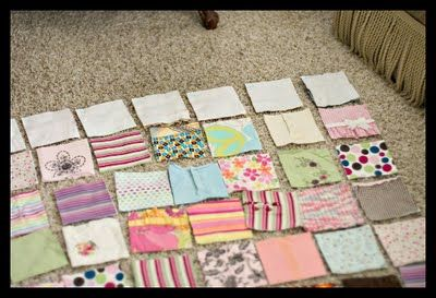 Craftastical!: Tutorial: A Baby Clothes Quilt from start to finish.  I want to make the girls each a blanket out of their onesies and shirts!