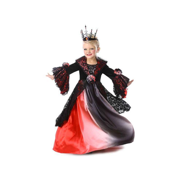 Ombre Vampire Costume - Kids, Girl's, Size: 12, Black