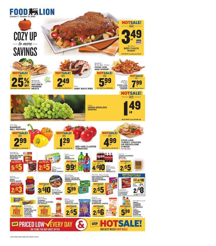 Food lion weekly ad oct 7 oct 13 2020 sneak peek