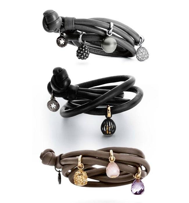 Ole Lynggaard leather bracelet