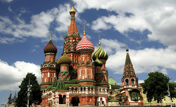 Μόσχα, Ρωσία - Καθεδρικός Ναός Αγίου Βασιλείου