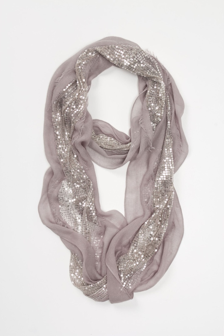 love.: Sparkle Scarf, Cute Scarf, Style, Sparkly Scarf, Dream Closet, Infinity Scarfs, Outfit, Taupe Loop, Shimmered Taupe