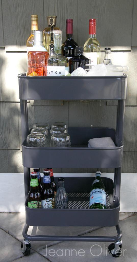 Best 25 Ikea Bar Cart Ideas On Pinterest Diy Bar Cart