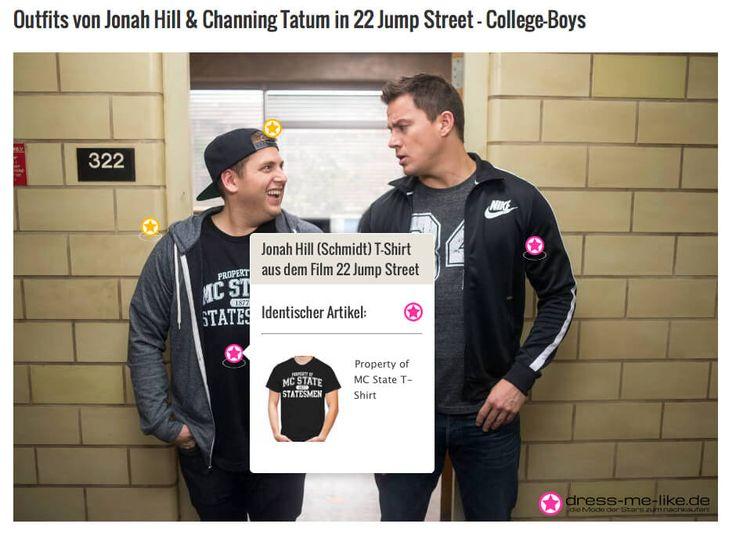 Jonah Hill (Schmidt) T-Shirt aus dem Film 22 Jump Street