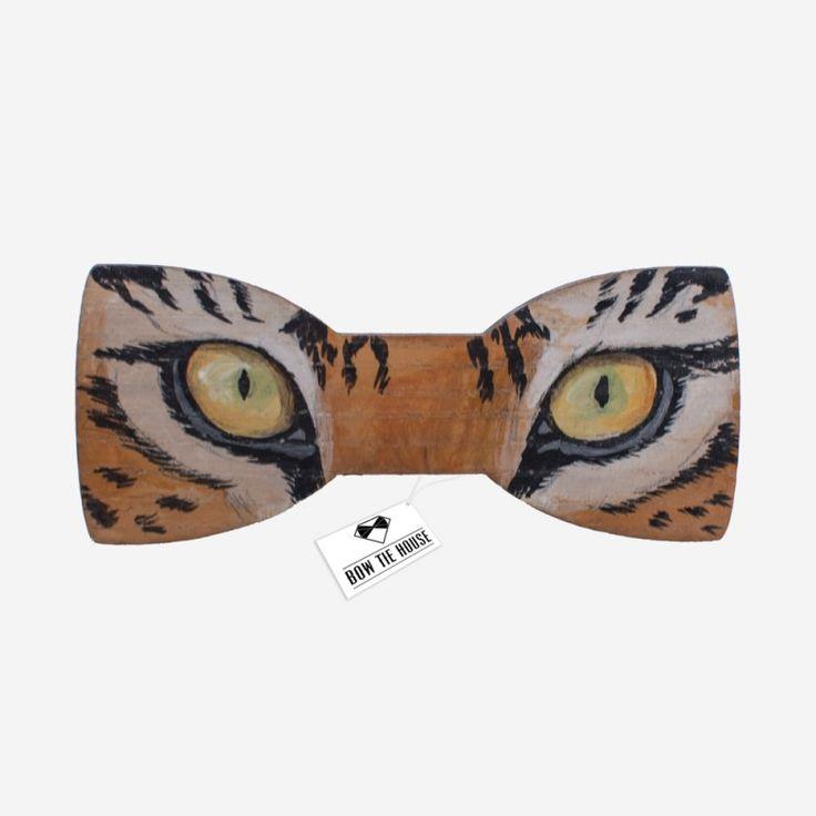 Деревянная бабочка глаза тигра акрил - купить в Киеве, Одессе, Львове, по всей Украине цена недорогая