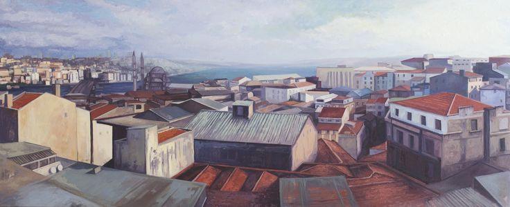 2014, 70 x 170 cm. Tuval üzerine yağlıboya / Oil on canvas