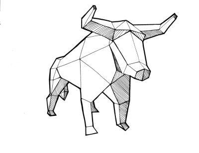 tatuajes animales geometricos dibujos - Buscar con Google