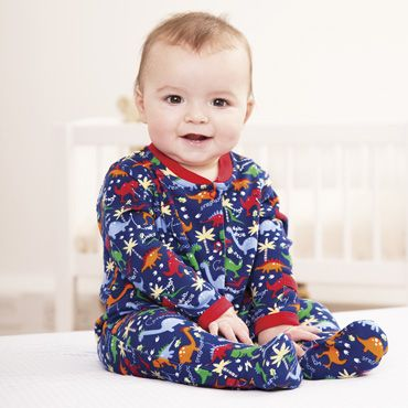 Dinosaur Baby Sleepsuit, Baby Sleepsuits and Bodies, Baby Clothes