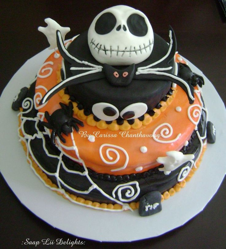 45 best Creepy Nightmare Before Christmas Cakes images on ...