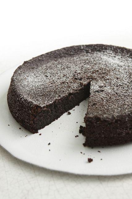 Flourless Chocolate Cake Nigella Almond