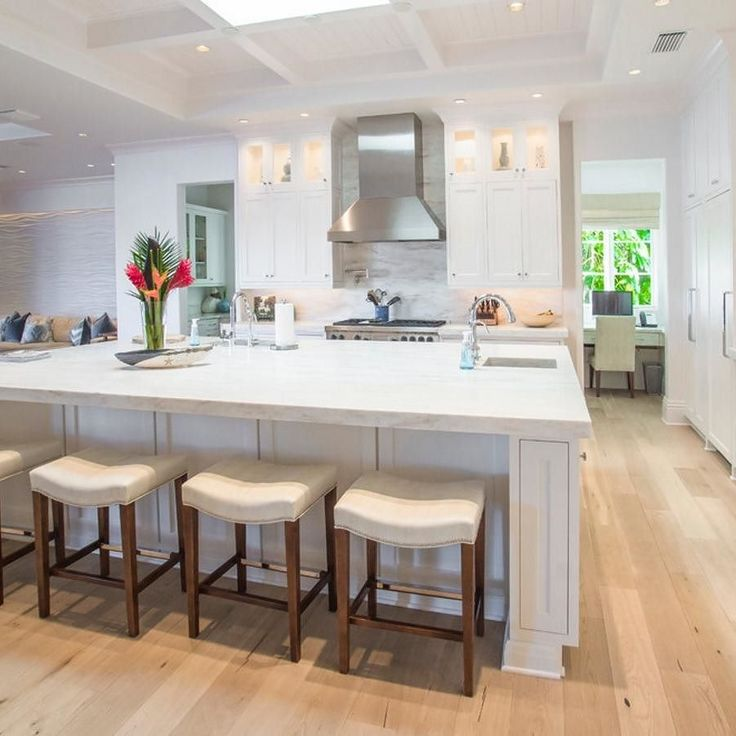 Do Wood Floors Look Good In The Kitchen? We Certainly Think So! An Excellent