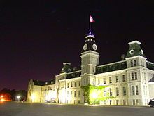 Mackenzie building, Royal Military College of Canada, Kingston, Ontario, Canada