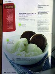 Protein Packed Ice Cream w/protein peanut butter cups