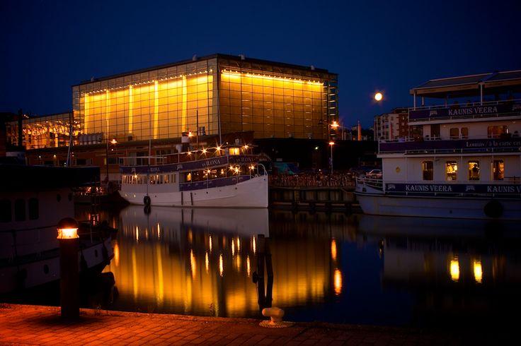 Sibelius Hall, Lahti, Finland http://www.lahdenseutu.net/en/travel/leisure/culture/theaters_concerts_movies/?id=1813