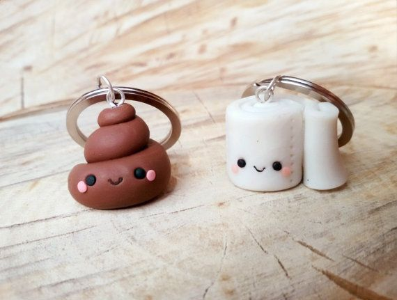 Cute key chains you and your BFF can share