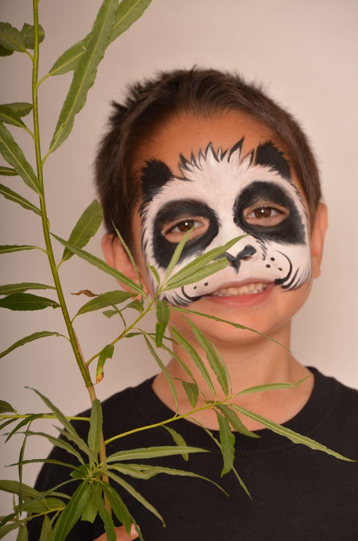 Hello Panda! #facepaint #snazaroo  How-to Guide > http://www.snazaroo.co.uk/catalogue/catalogue.aspx?id=15698