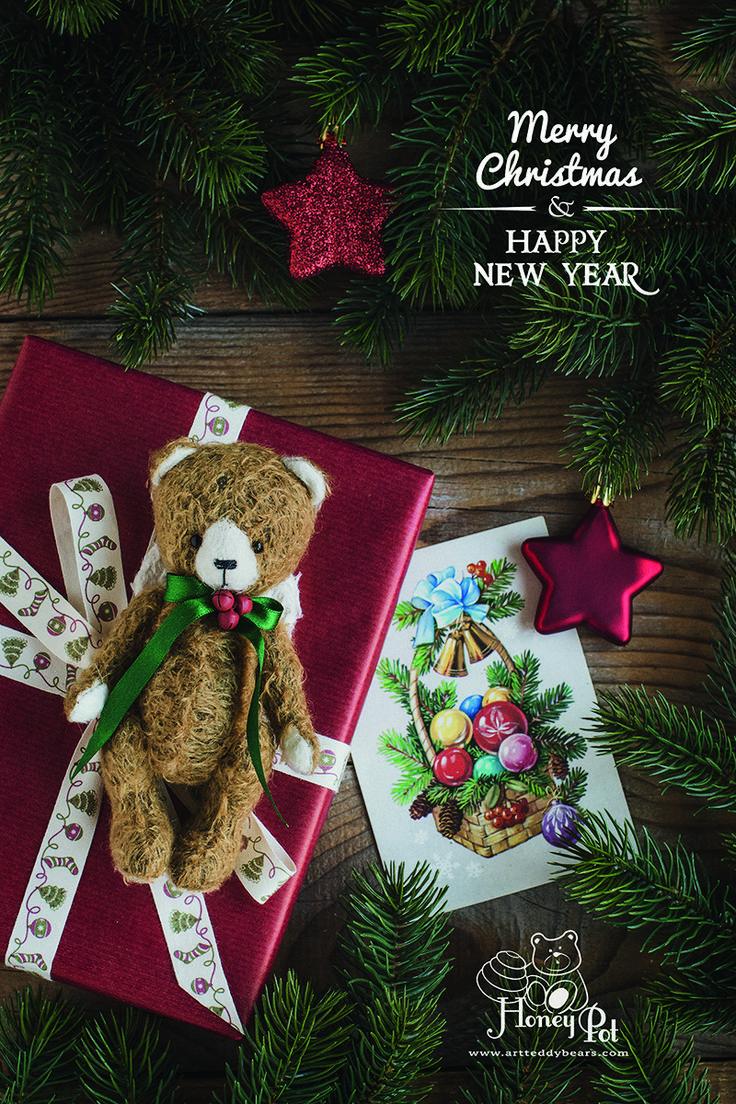 CHRISTMAS ANGEL by Marina Dorogush #art#artist#ooak#vintage #vintagestyle #teddy #bear#teddybear # artteddybears #marinadorogush #christmas #christmastime #christmasgifts #merrychristmas