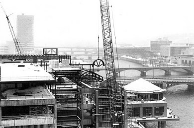 Van Andel Museum Center under construction - 1993