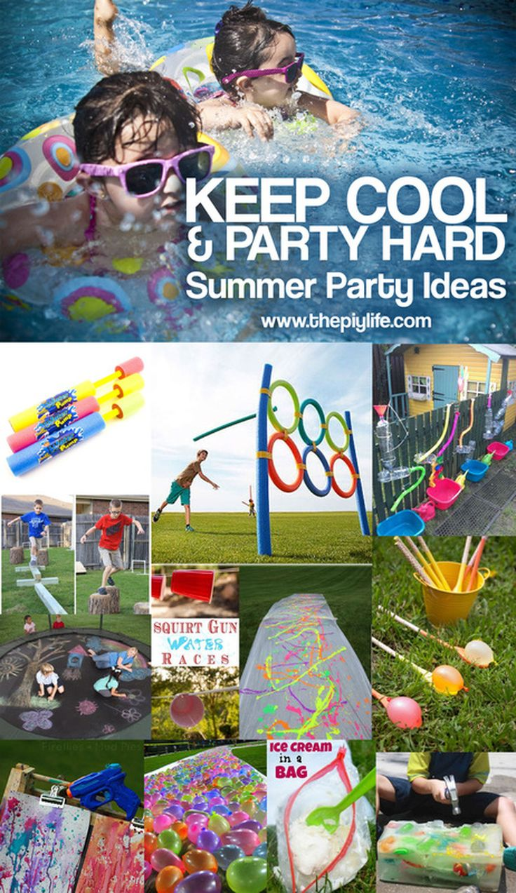 108 Best Summer Pool Party Fun Ideas Images On Pinterest