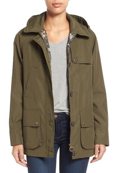 Barbour 'Wytherstone' Waterproof Rain Jacket available at #Nordstrom