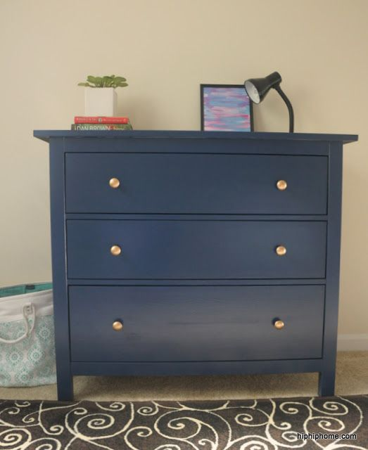 How to paint a Hemnes dresser
