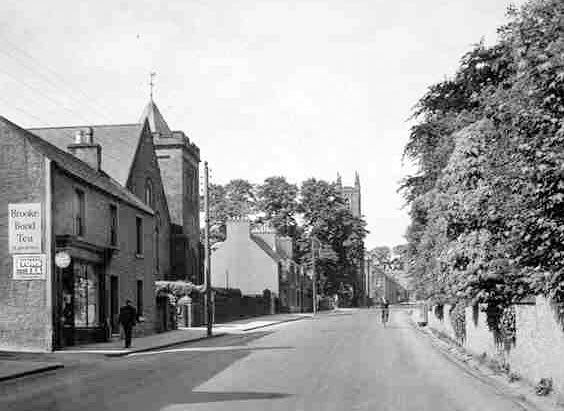 Old Photograph of Auchterarder Scotland