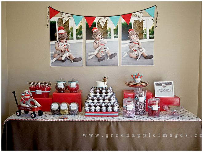 Image result for sock monkey party ideas