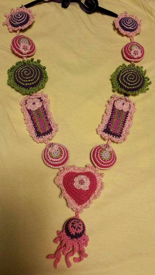 Collana hippy di luisa de santis (riprodotta)