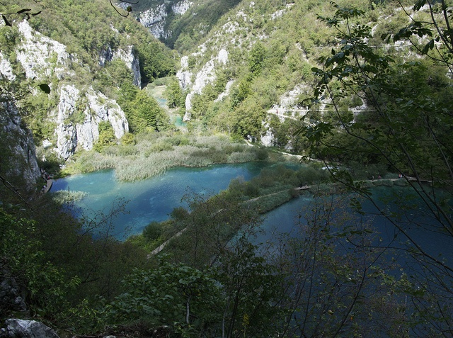Plitvice Park in Croatia