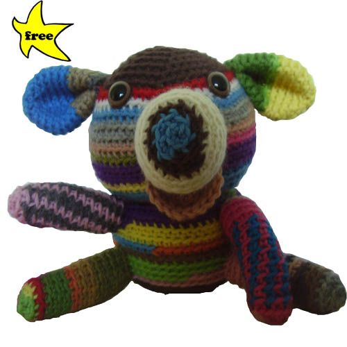 scrap Stuffed Animal Crochet Pattern. (Thanks for sharing)