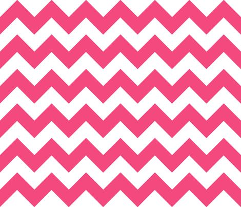 Chevrons Pink and White fabric by juliesfabrics on Spoonflower - custom fabric