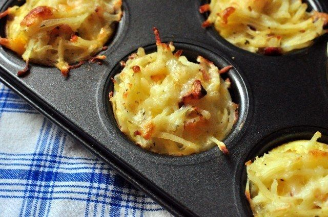 Recetas de cocinas: Cupcakes de papas | Recetas faciles, Videos de Cocina | SaborContinental.com