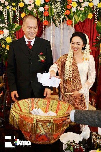 Traditional batak wedding