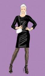 Eine schwarze Netzstrumpfhose passt zu eleganten Outfits und lässt - zusammen mit Pumps oder Sandaletten - die Beine sexy wirken.
