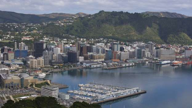 Southernmost metropolis Record holder in the southern hemisphere is Wellington, the capital of New Zealand. No other capital city is located south of the globe. Founded in 1839, the city is in the south of New Zealand's North Island cultural as political center of the country.