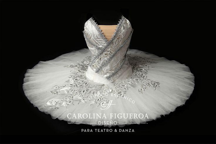 Tutu · Ballet La Bayadera · La Bayadère · El Reino de las Sombras · Kingdom of Shades · Costume Designer · Diseño de Vestuario: Ana Carolina Figueroa