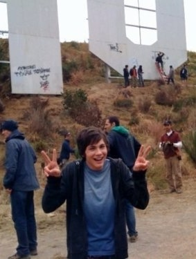 Logan Lerman, everybody. There are just so many reasons why I love this. <3