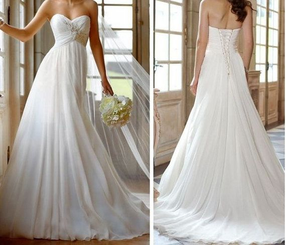 Chiffon - Wedding Dress - Abito da sposa - Bridal