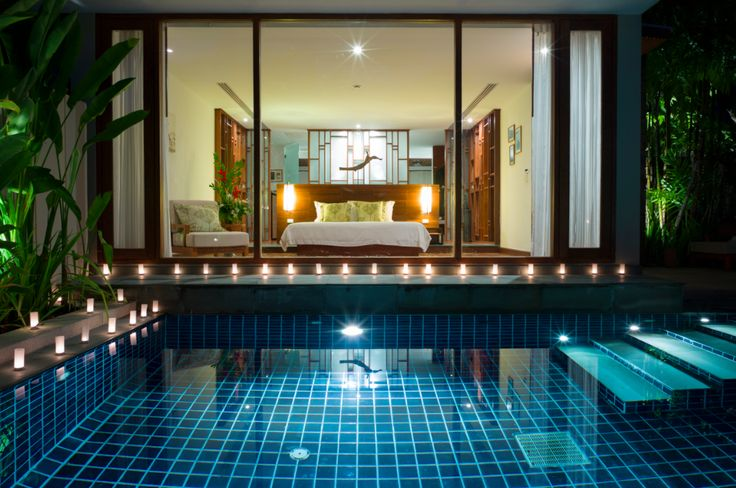 The Sarojin Pool Residence offers a blissful, sublime, private relaxation with plunge pool.